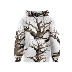 Tree Isolated Dead Plant Weathered Kids  Pullover Hoodie