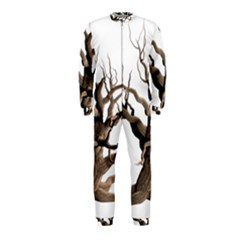 Tree Isolated Dead Plant Weathered Onepiece Jumpsuit (kids)
