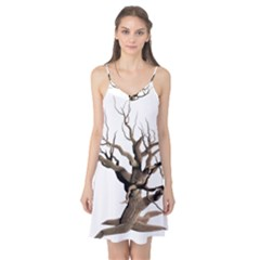 Tree Isolated Dead Plant Weathered Camis Nightgown