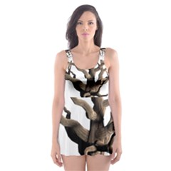 Tree Isolated Dead Plant Weathered Skater Dress Swimsuit
