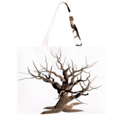 Tree Isolated Dead Plant Weathered Large Tote Bag