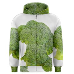 Broccoli Bunch Floret Fresh Food Men s Zipper Hoodie