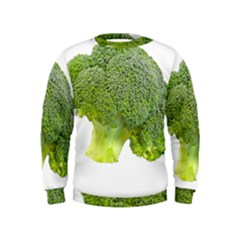 Broccoli Bunch Floret Fresh Food Kids  Sweatshirt