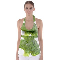 Broccoli Bunch Floret Fresh Food Babydoll Tankini Top