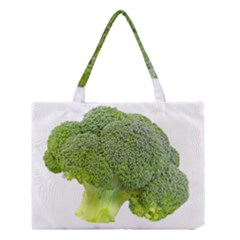 Broccoli Bunch Floret Fresh Food Medium Tote Bag