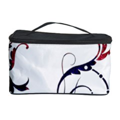 Scroll Border Swirls Abstract Cosmetic Storage Case