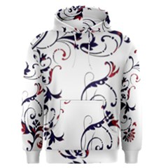 Scroll Border Swirls Abstract Men s Pullover Hoodie