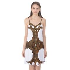 Cross Golden Cross Design 3d Camis Nightgown