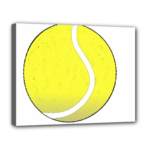 Tennis Ball Ball Sport Fitness Canvas 14  X 11
