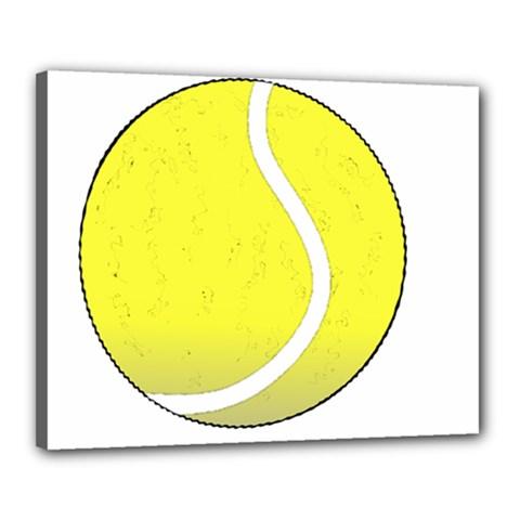 Tennis Ball Ball Sport Fitness Canvas 20  x 16