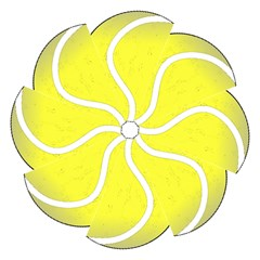 Tennis Ball Ball Sport Fitness Folding Umbrellas
