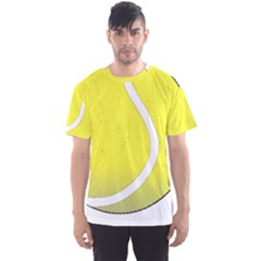 Tennis Ball Ball Sport Fitness Men s Sport Mesh Tee