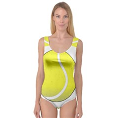 Tennis Ball Ball Sport Fitness Princess Tank Leotard
