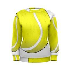 Tennis Ball Ball Sport Fitness Women s Sweatshirt