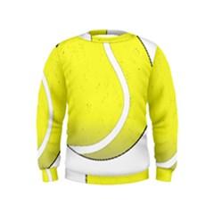 Tennis Ball Ball Sport Fitness Kids  Sweatshirt