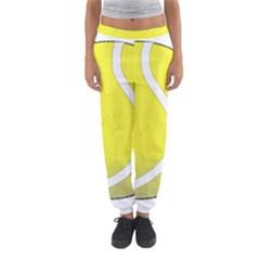 Tennis Ball Ball Sport Fitness Women s Jogger Sweatpants