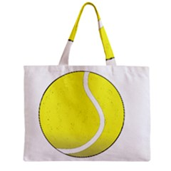 Tennis Ball Ball Sport Fitness Zipper Mini Tote Bag