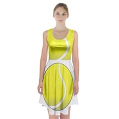 Tennis Ball Ball Sport Fitness Racerback Midi Dress