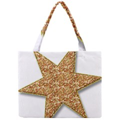 Star Glitter Mini Tote Bag