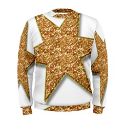 Star Glitter Men s Sweatshirt