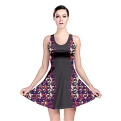 Geometric Pattern 236 170507 Reversible Skater Dress