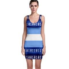 Digigender Cute Gender Gendercute Flags Sleeveless Bodycon Dress