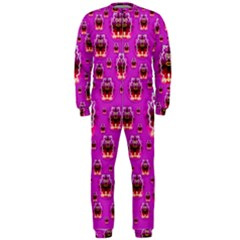 A Cartoon Named Okey Want Friends And Freedom OnePiece Jumpsuit (Men)