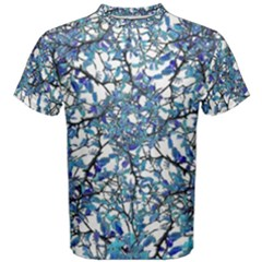 Modern Nouveau Pattern Men s Cotton Tee