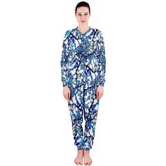 Modern Nouveau Pattern OnePiece Jumpsuit (Ladies)