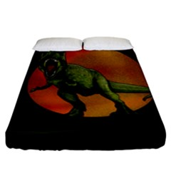 Dinosaurs T Rex Fitted Sheet (king Size)