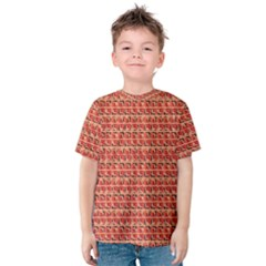 Geometric Pattern 176 C2 170302 Kids  Cotton Tee