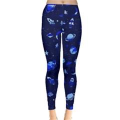 Space pattern Leggings