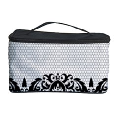 Transparent Lace Decoration Cosmetic Storage Case