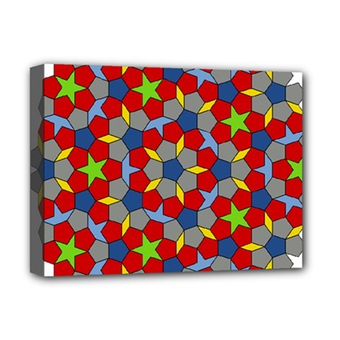 Penrose Tiling Deluxe Canvas 16  X 12