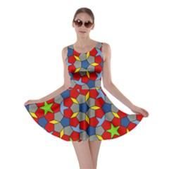 Penrose Tiling Skater Dress