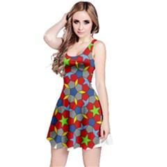 Penrose Tiling Reversible Sleeveless Dress