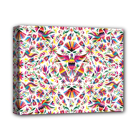 Otomi Vector Patterns On Behance Deluxe Canvas 14  x 11