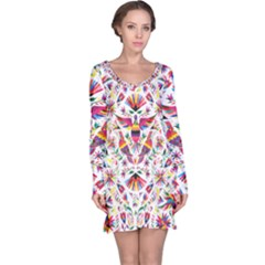 Otomi Vector Patterns On Behance Long Sleeve Nightdress