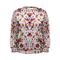 Otomi Vector Patterns On Behance Women s Sweatshirt