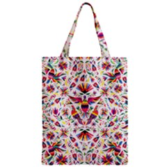 Otomi Vector Patterns On Behance Zipper Classic Tote Bag