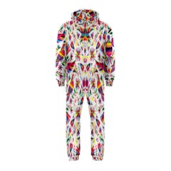 Otomi Vector Patterns On Behance Hooded Jumpsuit (kids)