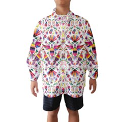 Otomi Vector Patterns On Behance Wind Breaker (Kids)