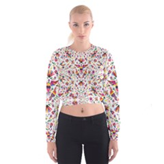 Otomi Vector Patterns On Behance Cropped Sweatshirt