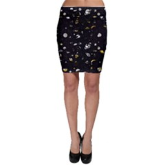 Space pattern Bodycon Skirt