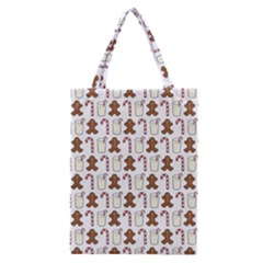 Christmas Trio Pattern Classic Tote Bag