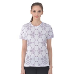 Density Multi Dimensional Gravity Analogy Fractal Circles Women s Cotton Tee