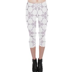 Density Multi Dimensional Gravity Analogy Fractal Circles Capri Leggings