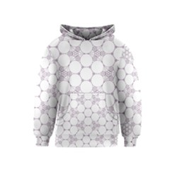 Density Multi Dimensional Gravity Analogy Fractal Circles Kids  Pullover Hoodie