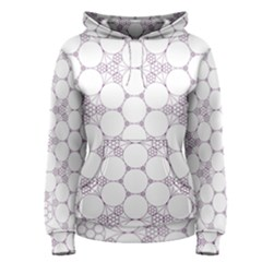 Density Multi Dimensional Gravity Analogy Fractal Circles Women s Pullover Hoodie