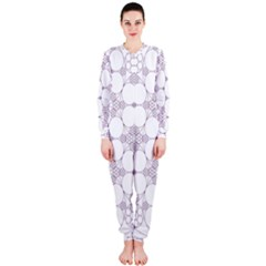 Density Multi Dimensional Gravity Analogy Fractal Circles OnePiece Jumpsuit (Ladies)